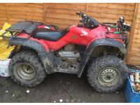 Honda farm ATV quad wanted