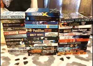 35x James Patterson Books Merrimac Gold Coast City Preview