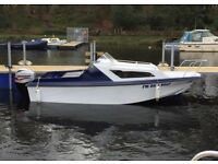 Pacific 550 with new mariner 60hp 4 stroke