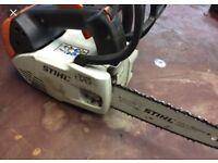 Stihl ms150 chainsaw