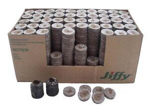 100 x Jiffy 7 Coco / Peat 41mm Plug Propagation Pellets, Cuttings, Seeds, Plant