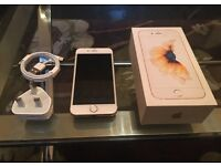 iPhone 6S, 16gb, mint condition, like new, unlocked, with box and charger.