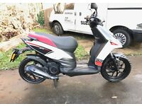 Aprilia SR motard 125 LOW MILES QUICK SALE!
