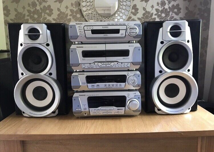 Technics HiFi Separates Stack System RS-DV250 | in Huddersfield, West  Yorkshire | Gumtree