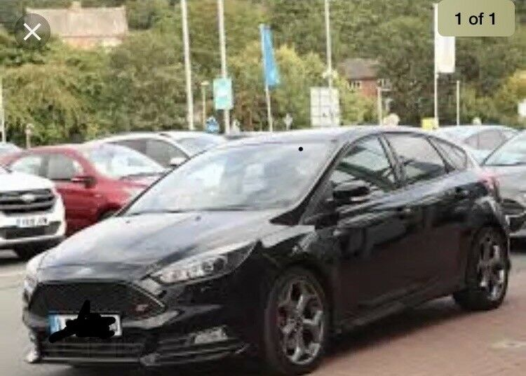 Breaking Ford Focus St 3 New Shape 2017 For Parts Cat N S D C