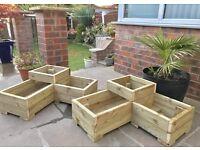Garden corner planters ONLY £35