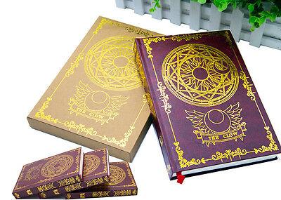 New Japan Anime Card Captor Sakura Figure Cosplay Magic Notebook Diary book Clow