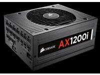 Corsair AX1200i 1200W Modular Power Supply Gaming Mining Hardware