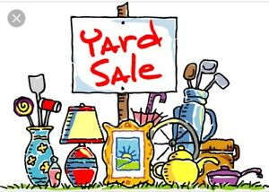 YARD SALE - Postponed due to forecasted rain