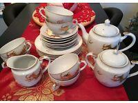 Geisha tea set.