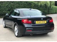 2014 BMW 2 Series 2,0 220d M Sport Coupe 2dr diesel manual 1 owner