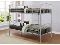 Single Bunk Bed with Mattress