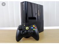 Xbox 360 SLIM 250gb plus USB 60 gb