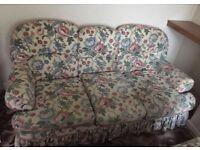FREE - vintage floral 3 seater sofa