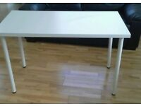 Ikea white desk table