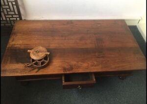 Beautiful large solid wood Balinese Coffee table Mosman Mosman Mosman Area Preview