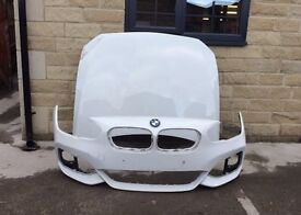 Genuine BMW F20 1 Series M Sport Facelift a Bonnet & Front Bumper & N-S Side Front wing 2016-