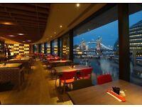 Great waiting staff needed - London Bridge, busy restaurant!