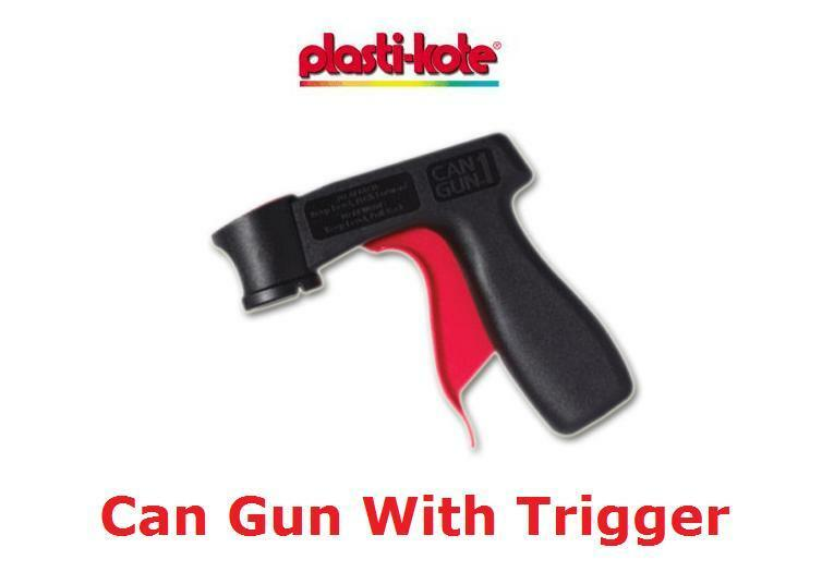 plasti kote can gun with trigger fits spray paint cans ebay. Black Bedroom Furniture Sets. Home Design Ideas