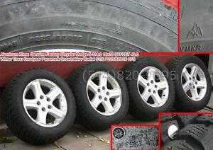 225 60 16 PNEUS HIVER CLOUS WINTER tires roues jantes MAGS 114.3