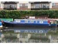 45ft Harbor marine narrowboat