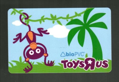TOYS R US Monkey Hnaging From a Vine 2008 Gift Card ( $0 )