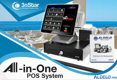 3nstar Pos System Celeron 4gb 500gb Ssd Restaurant Bakery Bar For Aldelopay