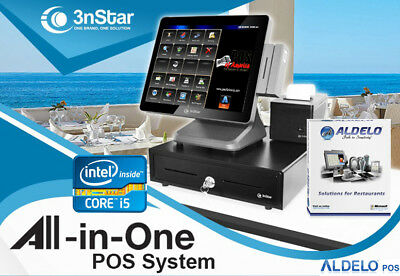 3nstar Pos System I5 4gb 500gb Ssd Restaurant Bakery Bar For Aldelo Pay New
