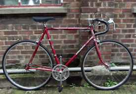 Single speed bike VISCOUNT frame 23inch NEW TYRES, DICTA 18T, CHAIN, BRAKES , PEDALS