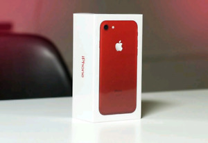 Red iPhone 8 Brand New Sealed in Box-Warranty