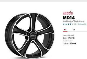 4 Winter Tires with Nice Rims
