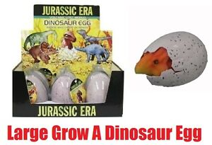 Grow A LARGE HATCHING DINOSAUR EGG Jurassic Magic Toy Gift Children Water Dino