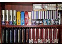 STAR TREK ENTIRE DVD COLLECTION: TOS, TAS, TNG, DS9, VOY, ENT, FILMS + Bluray