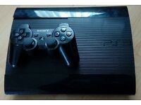 PS3 Super slim with controller for sale
