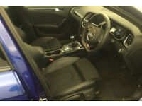 Blue AUDI A4 SALOON 1.8 2.0 TDI Diesel BLACK EDITION FROM £93 PER WEEK!