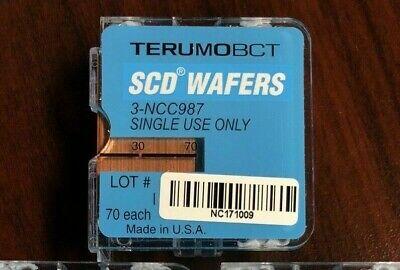 New Cartridge Of 70 Terumo 3-ncc987 Wafers For Scd Iib Sterile Tubing Welder