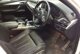 White BMW X5 3.0TD Steptronic 2015 xDrive30d M Sport FROM £150 PER WEEK!