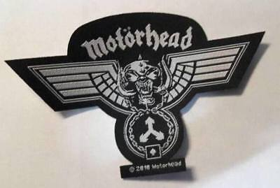 Motörhead - Hammerd Shape Patch Aufnäher Lemmy Metal Hard Rock n Roll NEU