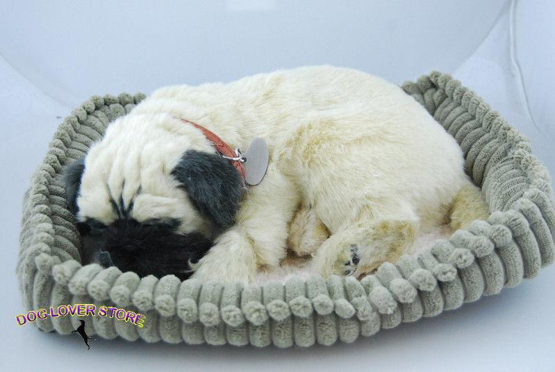Pug Perfect Petzzz Life Like Stuffed Animal Breathing Dog