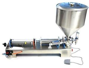 Pneumatic Dual-Use Paste Liquid Filling Machine 50-500ml 160404