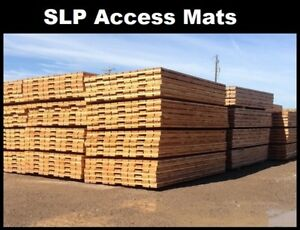 Access Mats and Rig Mat Blocks - SLP Industries Ltd.