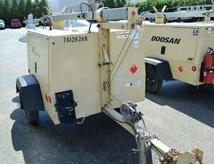 Ingersol Rand L6-4MH 6KW Light Tower