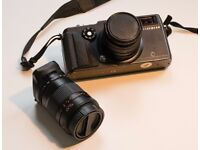 Hasselblad XPan with 45mm and 90mm