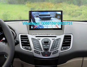 Ford Fiesta audio radio Car android wifi GPS navigation camera