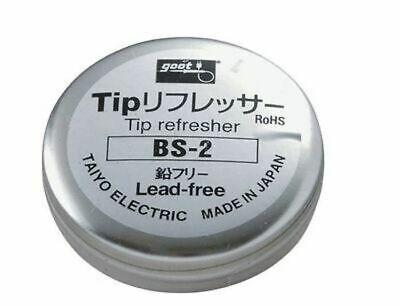 Goot Bs-2 Soldering Tip Refresher Lead-free Cleaner Taiyo Electric Japan