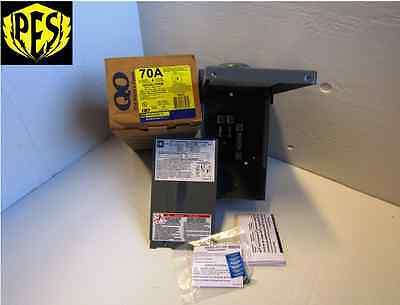 NEW IN BOX SQUARE D QO24L70RB 70 AMP 120/240VOLT 1 PH MAIN LUG OUTDOOR ENCLOSURE