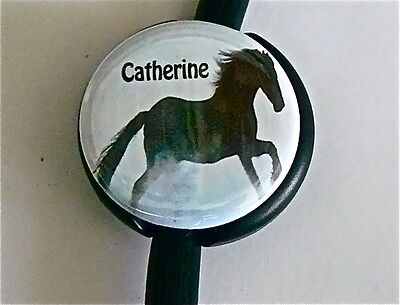 Id Stethoscope Name Tag Horse Beauty Medical, Nurse, Midwife, Imprinted, Stars