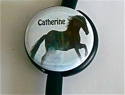 Id Stethoscope Name Tag Horse Beauty Medical, Nurse, Midwife, Imprinted, Stars