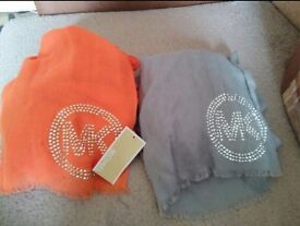 Brand new Genuine, Michael Kors scarves for sale