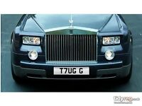 T7UG G - Private number plate - Boss / Guvnor / Gangster / Pimp / General